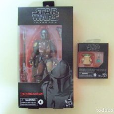 Figuras y Muñecos Star Wars: FIGURA THE MANDALORIAN + THE CHILD - STAR WARS BLACK SERIES HASBRO Nº 94 BABY YODA EL MANDALORIANO 6. Lote 236658705