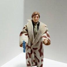 Figuras y Muñecos Star Wars: HAN SOLO TRENCH COAT NON CAMO LAPELS STAR WARS VINTAGE KENNER 1982. Lote 237101525