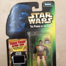 Figuras y Muñecos Star Wars: FIGURA LANDO CALRISSIAN SKIFF GUARD - STAR WARS - POWER OF THE FORCE - KENNER HASBRO VINTAGE. Lote 238237100