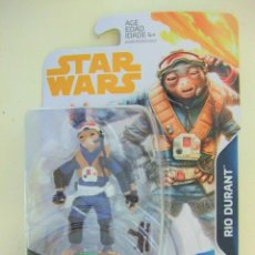 Figuras y Muñecos Star Wars: FIGURA RIO DURANT - STAR WARS A HAN SOLO STORY DISNEY HASBRO FORCE LINK 2.0 3,75 GUERRA GALAXIAS. Lote 239511855