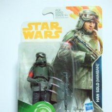 Figuras y Muñecos Star Wars: FIGURA HAN SOLO MIMBAN - STAR WARS A HAN SOLO STORY DISNEY HASBRO FORCE LINK 2.0 3,75. Lote 239511960