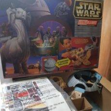 Figuras y Muñecos Star Wars: STAR WARS LA ESTRELLA DE LA MUERTE DE MICROMACHINES GALOOB FAMOSA CAJA ORIGINAL COMPLETO SIN ABRIR. Lote 239859910