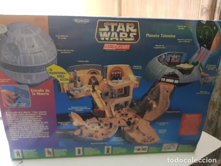 Figuras y Muñecos Star Wars: Star Wars La Estrella de la Muerte de MicroMachines Galoob Famosa caja original completo sin abrir - Foto 8 - 239859910