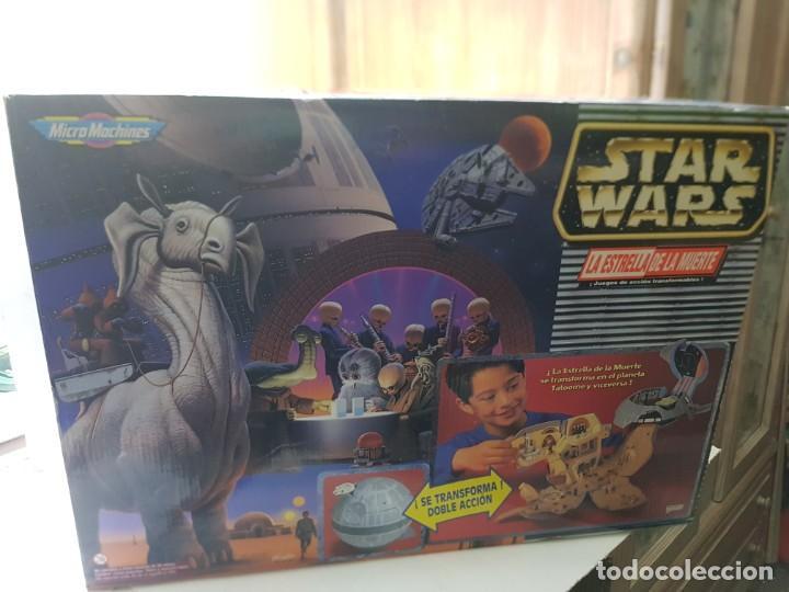 Figuras y Muñecos Star Wars: Star Wars La Estrella de la Muerte de MicroMachines Galoob Famosa caja original completo sin abrir - Foto 9 - 239859910