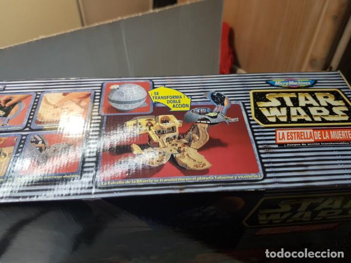 Figuras y Muñecos Star Wars: Star Wars La Estrella de la Muerte de MicroMachines Galoob Famosa caja original completo sin abrir - Foto 10 - 239859910