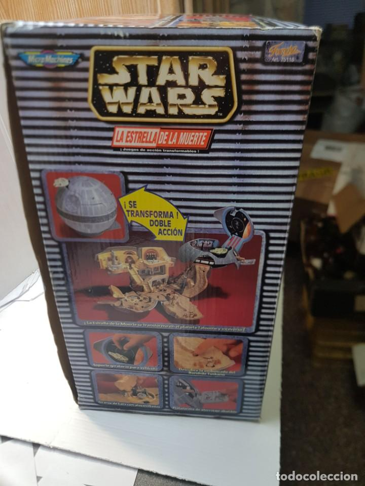 Figuras y Muñecos Star Wars: Star Wars La Estrella de la Muerte de MicroMachines Galoob Famosa caja original completo sin abrir - Foto 11 - 239859910
