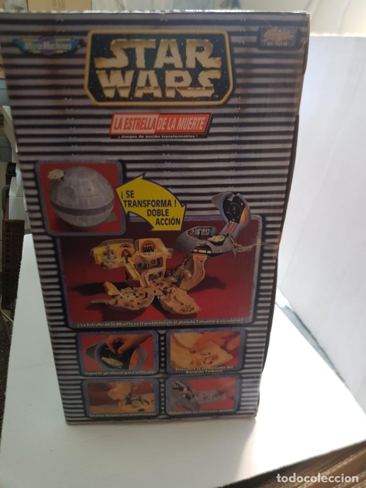 Figuras y Muñecos Star Wars: Star Wars La Estrella de la Muerte de MicroMachines Galoob Famosa caja original completo sin abrir - Foto 12 - 239859910