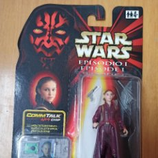 Figuras y Muñecos Star Wars: STAR WARS. EPISODIO I. REINA AMIDALA 1999. COMMTECH CHIP. [PRECINTADO]. HASBRO.. Lote 239963485