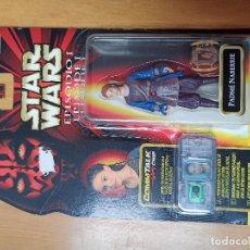 Figuras y Muñecos Star Wars: STAR WARS. EPISODIO I. PADME NABERRIE 1999. COMMTECH CHIP. [PRECINTADO]. HASBRO.. Lote 240006005