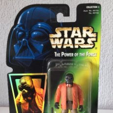 Figuras y Muñecos Star Wars: FIGURA PONDA BABA - STAR WARS POWER OF THE FORCE - POTF - KENNER HASBRO VINTAGE. Lote 240085285