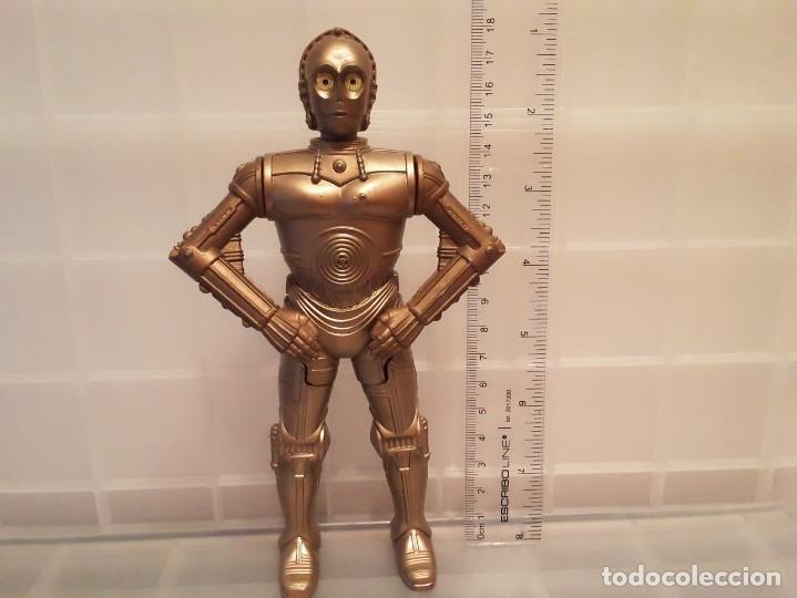 Figuras y Muñecos Star Wars: FIGURA STAR WARS C3PO DEL AÑO 2005 - Foto 5 - 269628223