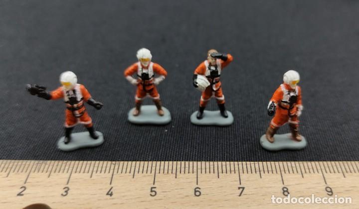 MICROMACHINES - STAR WARS - 4 PILOTOS DE LA RESISTENCIA - MICRO MACHINES (Juguetes - Figuras de Acción - Star Wars)