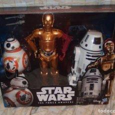 Figuras y Muñecos Star Wars: STAR WARS,THE FORCE AWAKENS,HASBRO,2015,CAJA ORIGINAL,A ESTRENAR. Lote 241057875