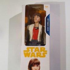 Figuras y Muñecos Star Wars: FIGURA 30 CM. STAR WARS QI´RA (CORELLIA) DISNEY HASBRO NUEVA A ESTRENAR. Lote 241090070