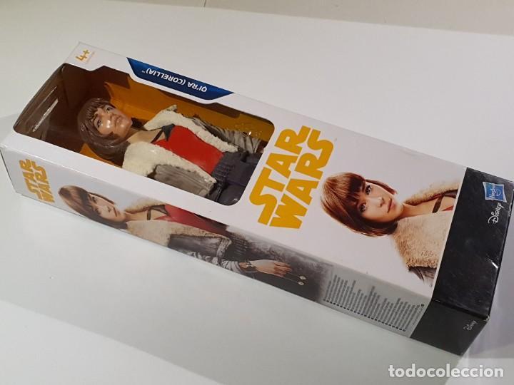Figuras y Muñecos Star Wars: FIGURA 30 CM. STAR WARS QI´RA (CORELLIA) DISNEY HASBRO NUEVA A ESTRENAR - Foto 4 - 241090070