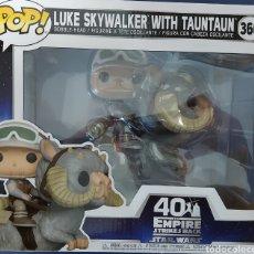 Figuras y Muñecos Star Wars: FUNKO POP STAR WARS LUKE SKYWALKER WITH TAUNTAUN. Lote 241417560
