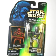 Figuras y Muñecos Star Wars: FIGURA DROIDE ASP-7 - STAR WARS POWER OF THE FORCE - KENNER VINTAGE. Lote 241895630