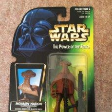 Figuras e Bonecos Star Wars: FIGURA MOMAW NADON - STAR WARS - POWER OF THE FORCE - KENNER VINTAGE. Lote 241895885