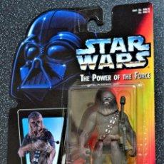 Figuras y Muñecos Star Wars: FIGURA CHEWBACCA - STAR WARS - POWER OF THE FORCE - KENNER VINTAGE. Lote 241897020