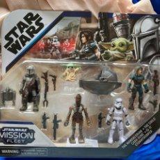 Figuras y Muñecos Star Wars: STAR WARS,MANDALORIANO,THE CHILD,CARA DUNE,IG-11,STROMTROOPER ,HASBRO. Lote 242288295