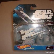 Figuras y Muñecos Star Wars: HOT WHEELS STAR WARS: ROGUE ONE REBEL U-WING FIGHTER. Lote 242927875