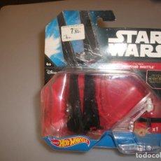 Figuras y Muñecos Star Wars: HOT WHEELS STAR WARS: KYLO REN`S COMMAND SHUTTLE. Lote 242927885
