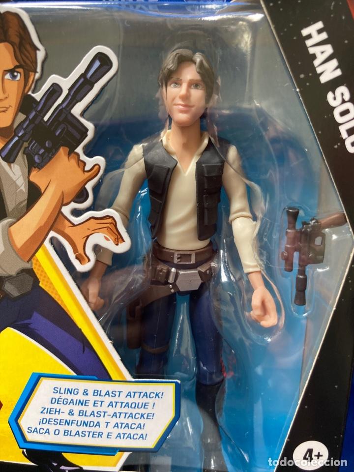 Figuras y Muñecos Star Wars: Star Wars Han Solo Galaxy Of Adventures Hasbro - Foto 2 - 242967770