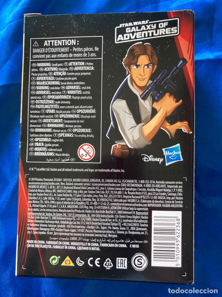 Figuras y Muñecos Star Wars: Star Wars Han Solo Galaxy Of Adventures Hasbro - Foto 3 - 242967770