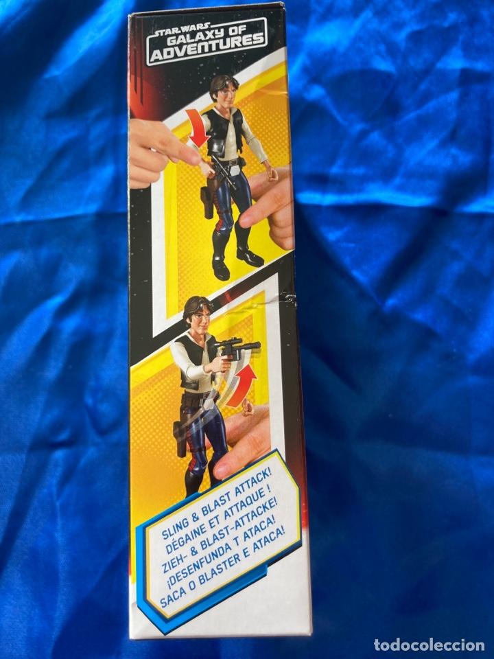 Figuras y Muñecos Star Wars: Star Wars Han Solo Galaxy Of Adventures Hasbro - Foto 4 - 242967770
