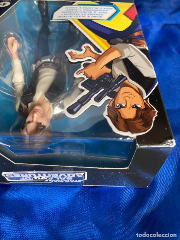 Figuras y Muñecos Star Wars: Star Wars Han Solo Galaxy Of Adventures Hasbro - Foto 6 - 242967770