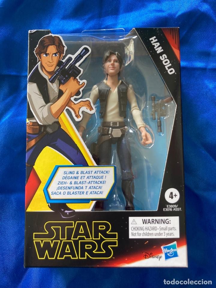 STAR WARS HAN SOLO GALAXY OF ADVENTURES HASBRO (Juguetes - Figuras de Acción - Star Wars)
