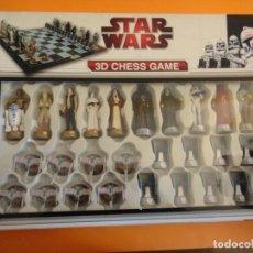 Figure e Bambolotti Star Wars: AJEDREZ 3D STAR WARS CHESS GAME GUERRA GALAXIAS. COMPLETO EXCELENTE ESTADO CON INSTRUCCIONES .. Lote 242969090