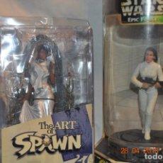 Figuras y Muñecos Star Wars: 2 FIGURAS LEIA EPIC FORCE Y WANDA SPAWN PARA CUSTOM LEIA NOVIA. Lote 243039430