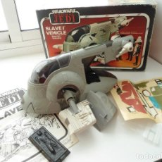 Figuras y Muñecos Star Wars: SLAVE I VEHICLE - BOBA FETT SPACESHIP - STAR WARS RETORNO DEL JEDI - KENNER 1981 (1983). Lote 229756975