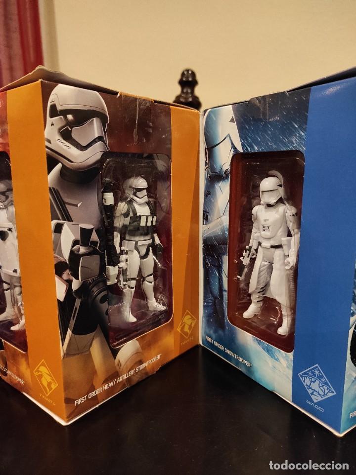 Figuras y Muñecos Star Wars: STAR WARS THE FORCE AWAKENS FIRST ORDER LEGION -HASBRO- EXCLUSIVO, CUBO CON 7 FIGURAS, 2015 - Foto 4 - 243632760
