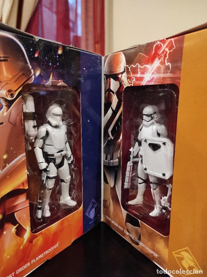 Figuras y Muñecos Star Wars: STAR WARS THE FORCE AWAKENS FIRST ORDER LEGION -HASBRO- EXCLUSIVO, CUBO CON 7 FIGURAS, 2015 - Foto 5 - 243632760
