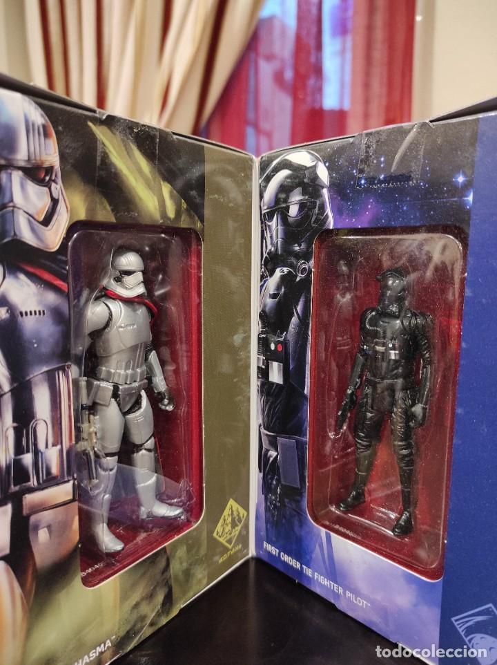 Figuras y Muñecos Star Wars: STAR WARS THE FORCE AWAKENS FIRST ORDER LEGION -HASBRO- EXCLUSIVO, CUBO CON 7 FIGURAS, 2015 - Foto 6 - 243632760