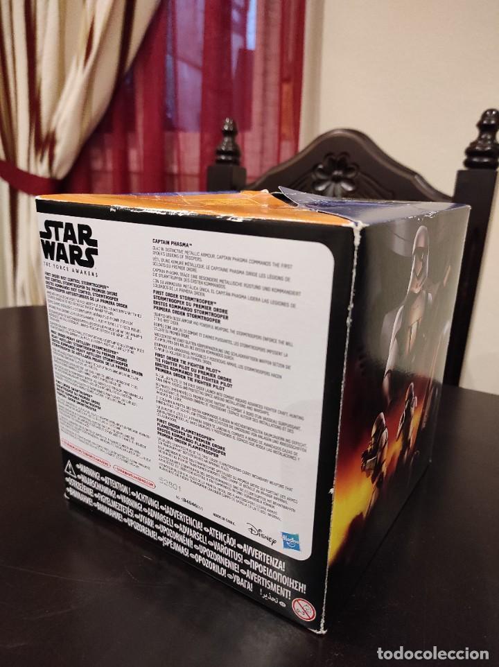 Figuras y Muñecos Star Wars: STAR WARS THE FORCE AWAKENS FIRST ORDER LEGION -HASBRO- EXCLUSIVO, CUBO CON 7 FIGURAS, 2015 - Foto 9 - 243632760