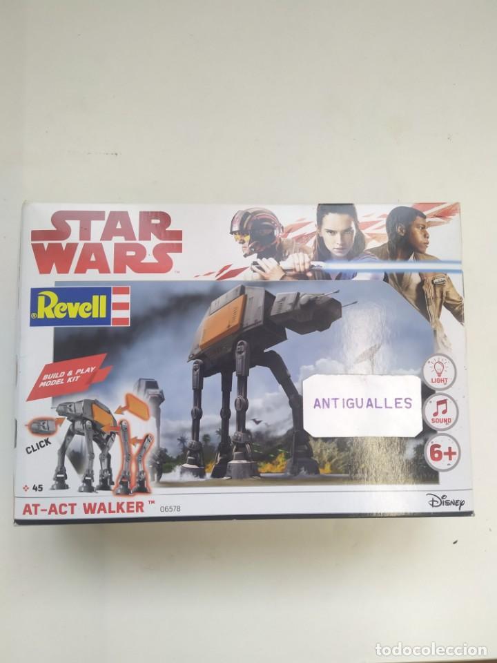STAR WARS AT-ACT WALKER 06578 REVELL MODEL KIT,JUGUETE DISNEY (Juguetes - Figuras de Acción - Star Wars)