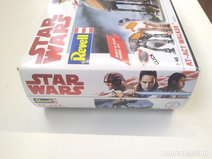 Figuras y Muñecos Star Wars: STAR WARS AT-ACT WALKER 06578 REVELL MODEL KIT,JUGUETE DISNEY - Foto 3 - 243638210