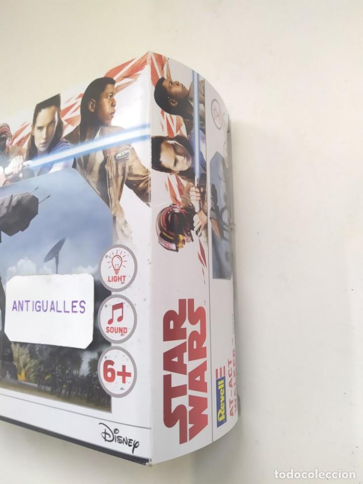 Figuras y Muñecos Star Wars: STAR WARS AT-ACT WALKER 06578 REVELL MODEL KIT,JUGUETE DISNEY - Foto 4 - 243638210