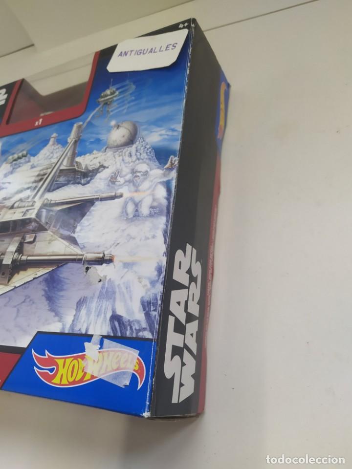 Figuras y Muñecos Star Wars: STAR WARS BATALLA EN LA BASE ECO HOT WHEELS-JUGUETE MINIATURA- - Foto 4 - 243639630