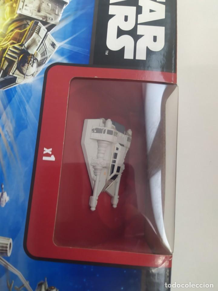 Figuras y Muñecos Star Wars: STAR WARS BATALLA EN LA BASE ECO HOT WHEELS-JUGUETE MINIATURA- - Foto 5 - 243639630