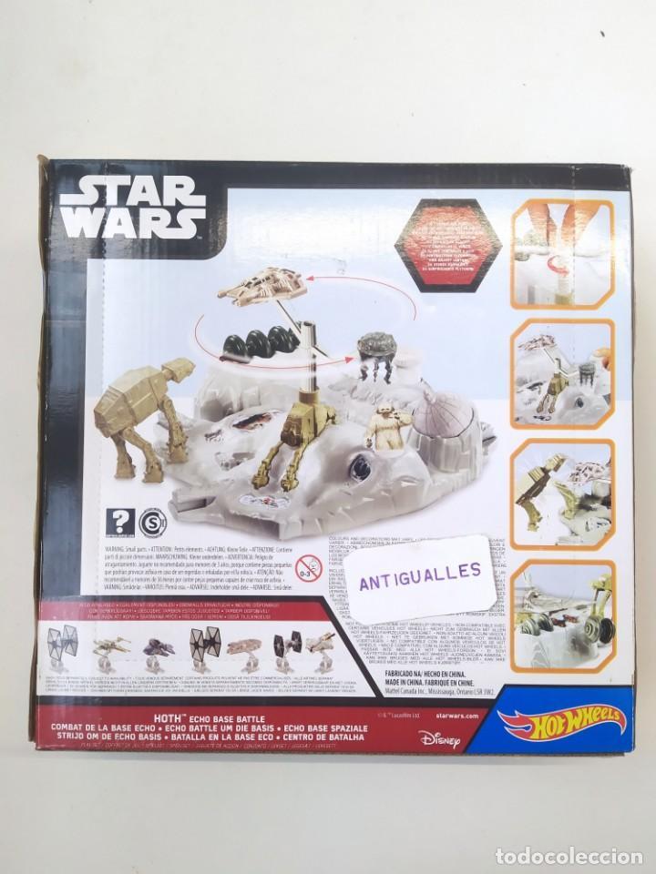 Figuras y Muñecos Star Wars: STAR WARS BATALLA EN LA BASE ECO HOT WHEELS-JUGUETE MINIATURA- - Foto 7 - 243639630