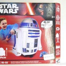 Figuras y Muñecos Star Wars: STAR WARS R2-D2 RADIOCONTROL INCHABLE DISNEY-JUGUETE RADIOCONTROL RADIODIRIJIDO-64 CM-. Lote 243644655