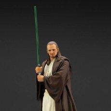 Figuras y Muñecos Star Wars: ESTATUA QUI-GON JINN 18 CM - ARTFX+ 1/10 - STAR WARS. Lote 244492645