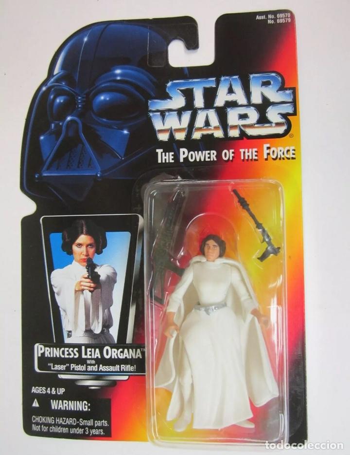 FIGURA PRINCESA LEIA ORGANA - STAR WARS - POWER OF THE FORCE - KENNER VINTAGE (Juguetes - Figuras de Acción - Star Wars)
