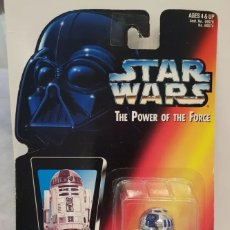 Figuras y Muñecos Star Wars: FIGURA R2D2 - STAR WARS POWER OF THE FORCE - KENNER HASBRO VINTAGE. Lote 244773830