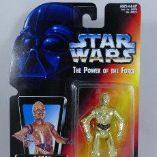 Figuras y Muñecos Star Wars: FIGURA C3PO - STAR WARS POWER OF THE FORCE - KENNER HASBRO VINTAGE. Lote 244773915