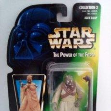 Figuras y Muñecos Star Wars: FIGURA TUSKEN RAIDER - STAR WARS - POWER OF THE FORCE - POTF - KENNER HASBRO VINTAGE. Lote 244774445